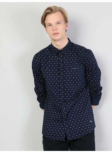 Colin's Gömlek Lacivert